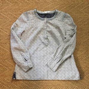 Cute Boden polka dot blouse